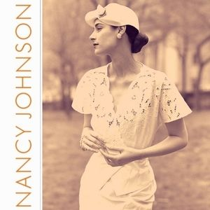 Nancy Johnson Vintage Eyelet White Tea Dress